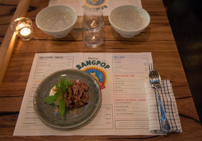 BangPop Thai streetfood! 35 South Wharf Prom #melbourne #thai #restaurant