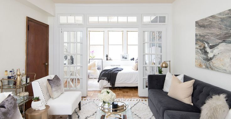 See what $5000 gets when it comes to crafting a glamorous bachelorette pad decked out in chic neutrals.