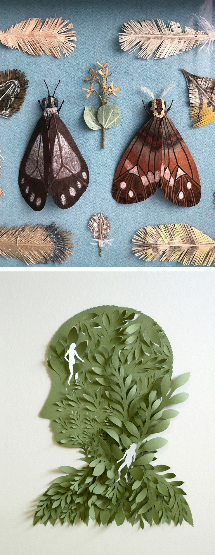 White Cut Paper Illustration: 25+ Unique Cut Paper Art Ideas On Pinterest