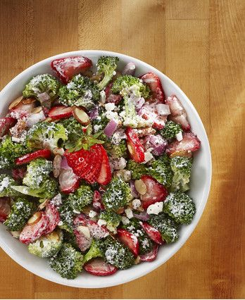 Enjoy this unique combination of fresh fruit and vegetables – the perfect dish for a warm, summer day.