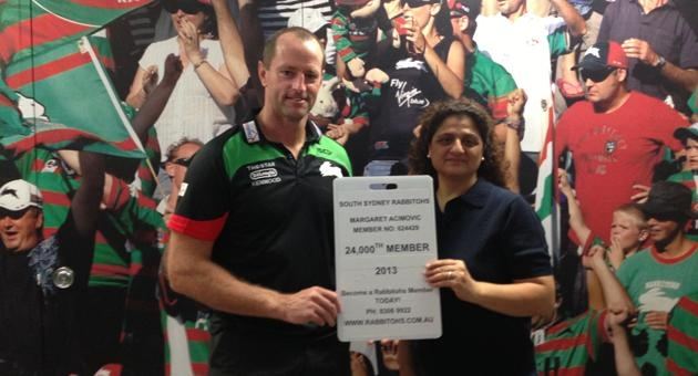 Rabbitohs pass 24,000 Members. Less than 1000 to go!