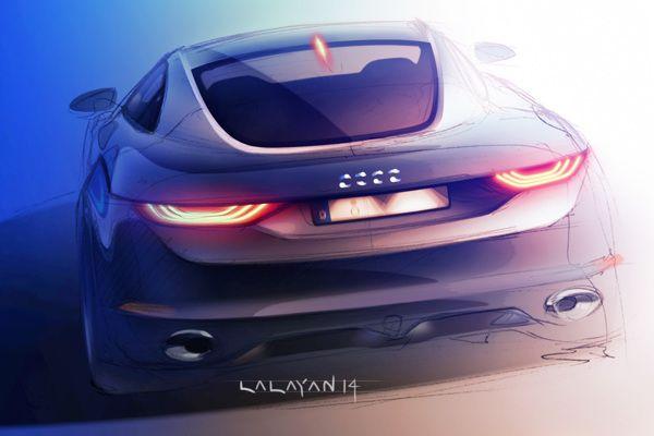 Audi TT Concept by Tigran Lalayan, via Behance