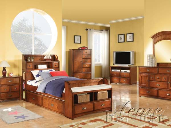 Brandon Oak Wood Twin Bedroom Set. 93 best Bed And all Bedrooms Furniture images on Pinterest