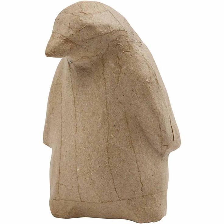 Pingvin, H: 13,5 cm, 1 stk.