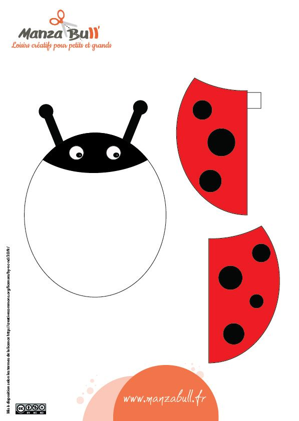 64 best activit manuelle enfants images on pinterest dragonflies for kids and ladybugs - Activite manuelle printemps 3 6 ans ...