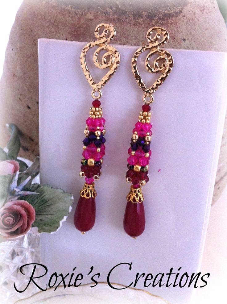 Earrings pendant, Earrings handmade, Handmade from Italy di LeGioieDiRoxie su Etsy