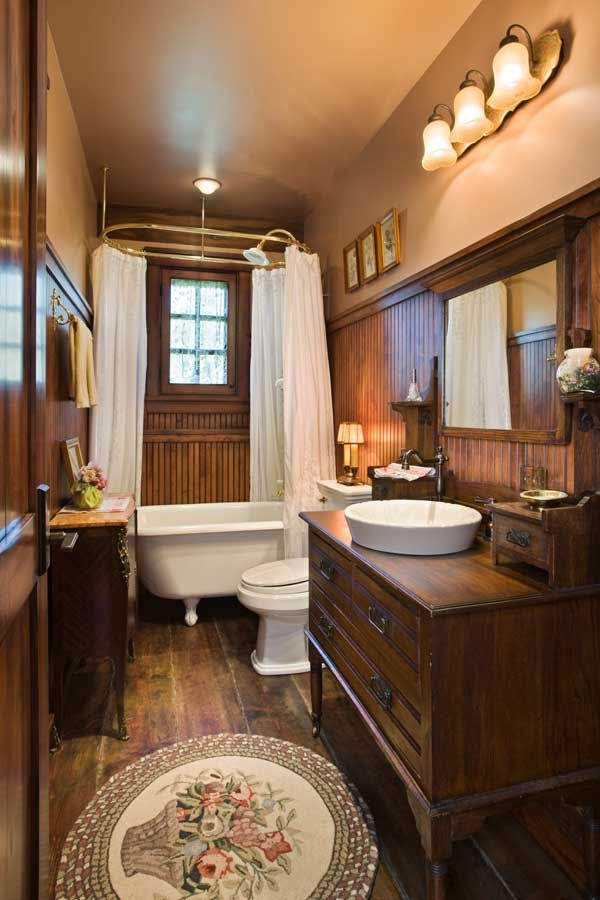 25 best ideas about small rustic bathrooms on pinterest - Bathroom ideas for small bathroom ...
