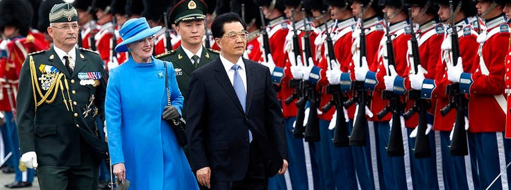 Kongehuset - Forside中国总书记 丹麦女王