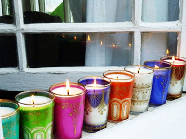 Decorative Soy Candles by Market Street Candles