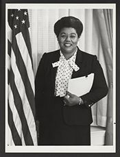 Mississippi Valley State alum  Katie Hall became the first African American from Indiana to serve in the House of Representatives. Among her chief accomplishments was piloting a bill through Congress to make Martin Luther King, Jr.'s birthday a national holiday.