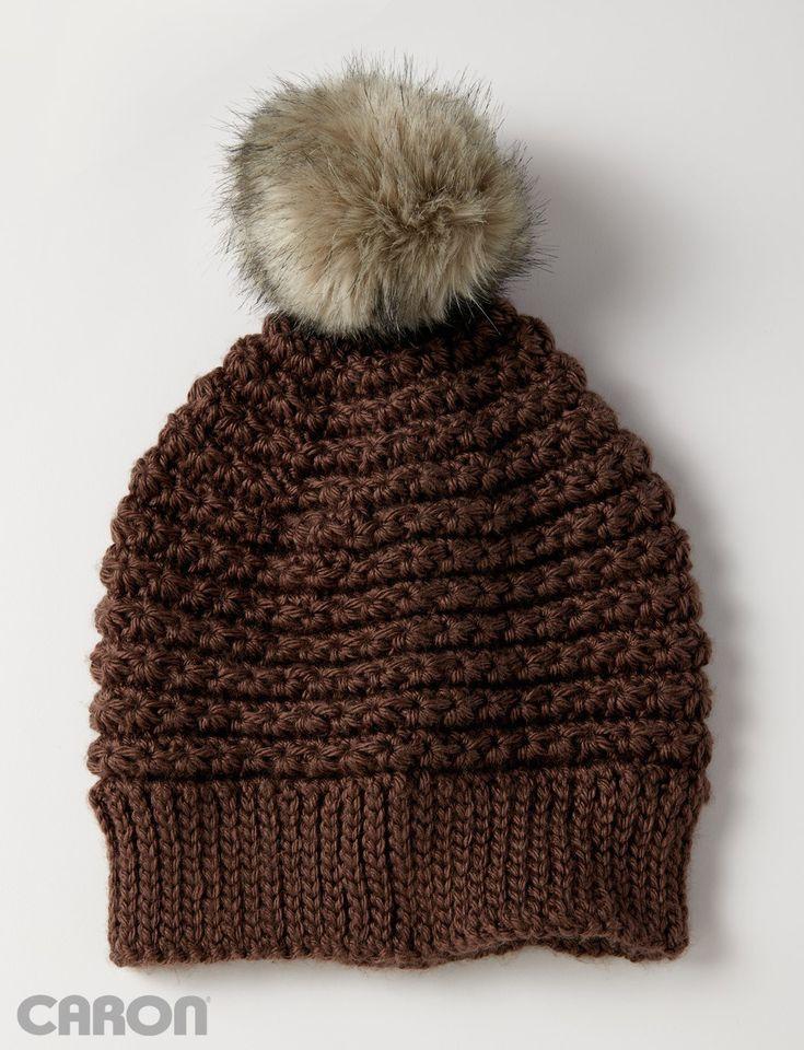 5 Star Beanie Crochet Hat Pattern Featuring the Star Cluster Stitch