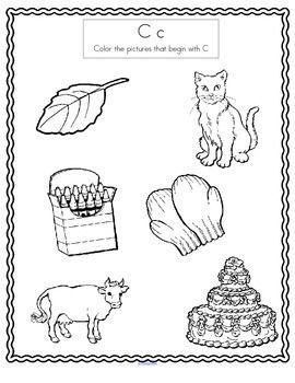 alphabet beginning sounds coloring printables preschool prek and kindergarten beginning. Black Bedroom Furniture Sets. Home Design Ideas