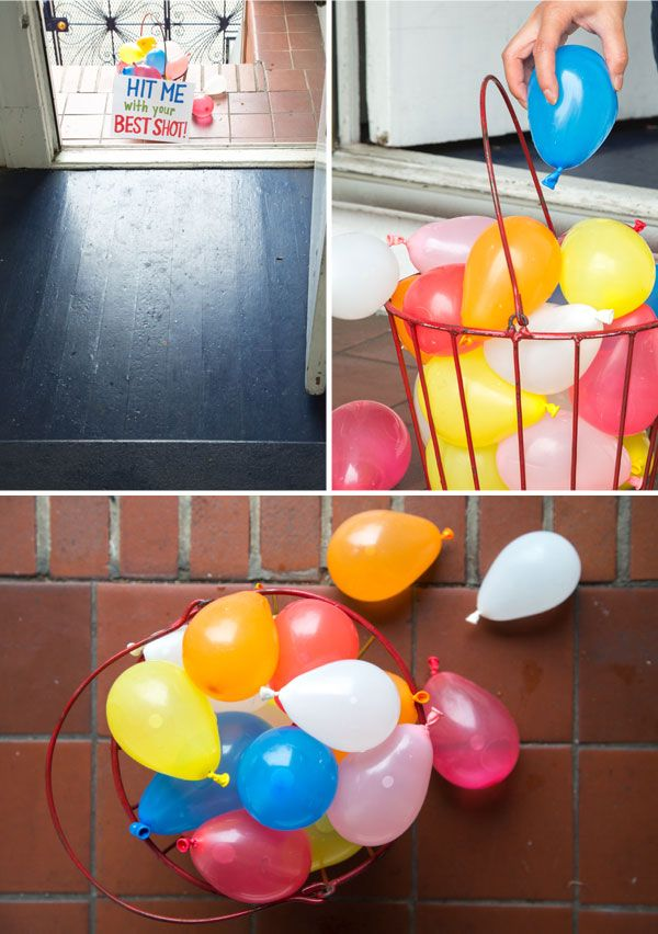 Best 25 water balloon fight ideas on pinterest water for Fun things to do with water balloons
