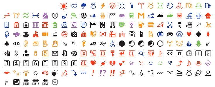 日本の絵文字(emoji)がニューヨーク近代美術館(MoMA)に収蔵