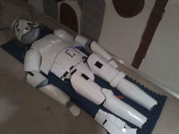 this is so detailed and not sure if it would save you any time or $$ DIY Stormtrooper