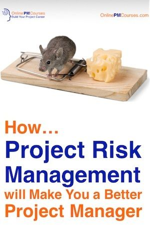 Risk is inherent in the nature of a project. So, that makes project risk management a central part of the project management toolset.