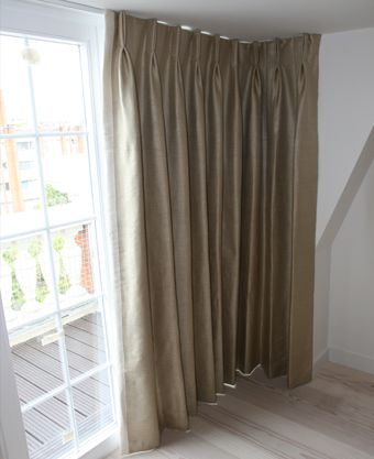 A Juliet Balcony Solution Floor To Ceiling Curtains Made