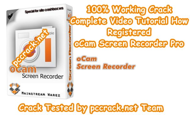 oCam Screen Recorder Pro 382.0 Crack has screen capture and screen recording functionality to offer. This means you can use this application  via @pccrack