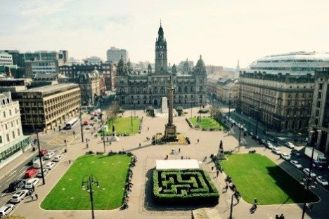 George Square, Glasgow PS: Visit https://posttrutherablog.com for HQ pictures.