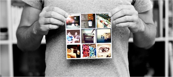 Stickygram: magnets from instagram photos: keep them as a sheet or split them up