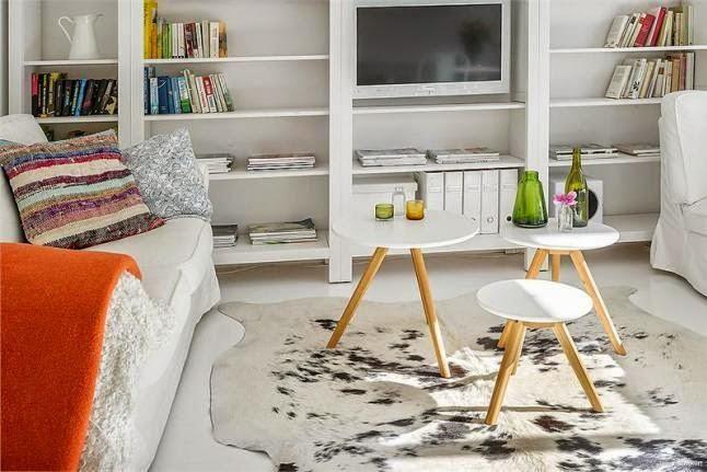 Inspiración Deco: Estilo nórdico con pequeños toques de color | Decorar tu casa es facilisimo.com