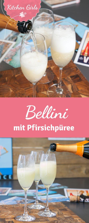 Fruchtig frischer Bellini, wir haben das Rezept für den legendäre Sommerdrink!