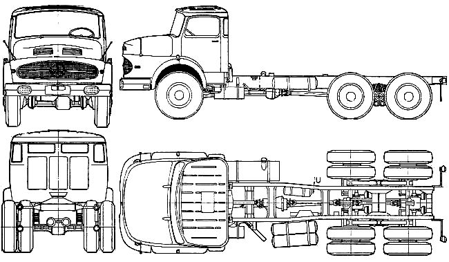 50 best blueprint images on pinterest ships atelier and boat building 1962 mercedes benz l2623 truck blueprint malvernweather Image collections