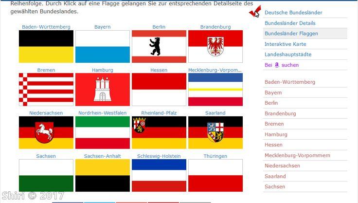 Die Flaggen der Bundesländer der BRD!