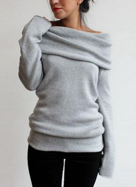 Stylish pullover sweater!