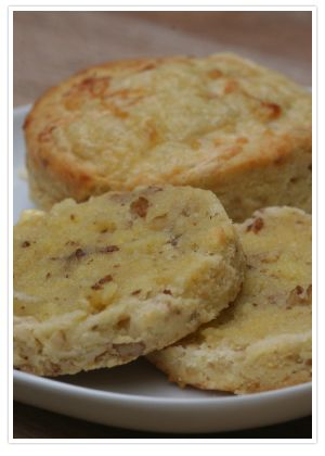 gluten free cheese and walnut scones
