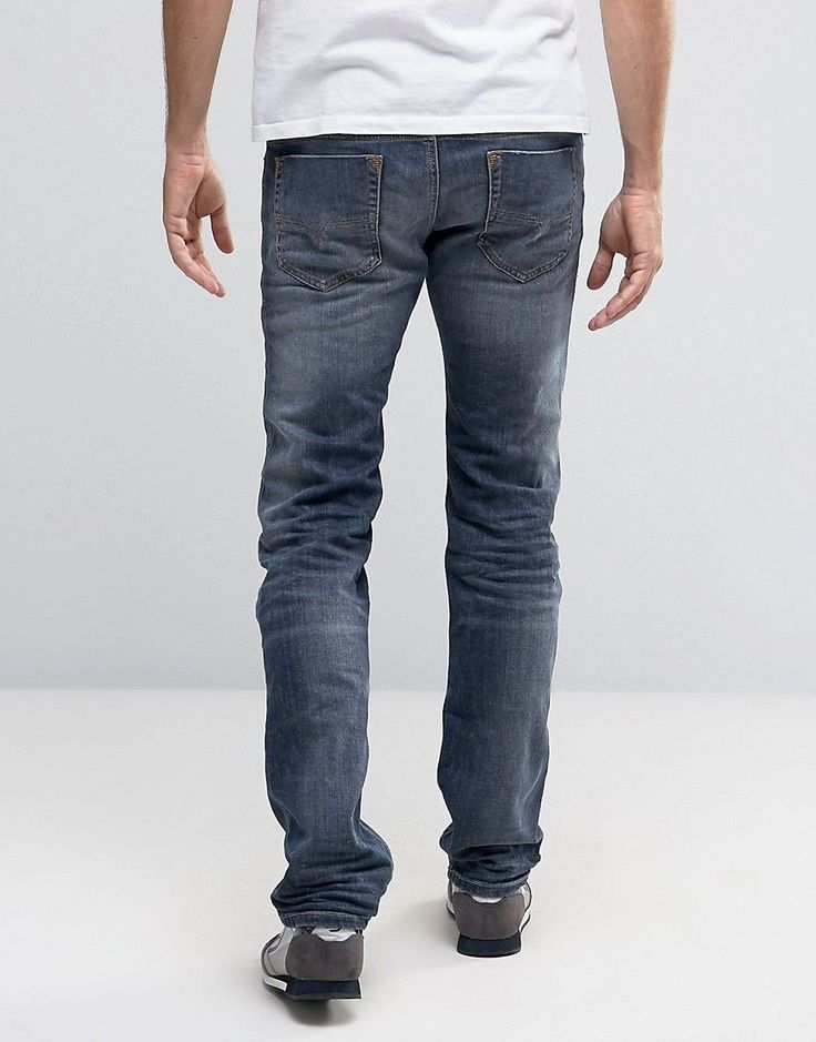 Diesel Jeans Safado Straight 885K Dark Gray - Gray