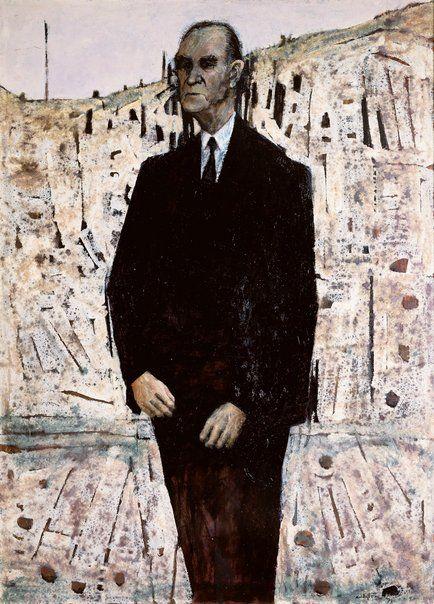 Winner: Archibald Prize 1971 Clifton Pugh Title Sir John McEwan Medium oil on board