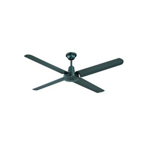 Hunter Pacific / Typhoon ceiling fan in black. http://www.ozlighting.com.au/Hunter-Pacific-Typhoon-Metal-Blade-Ceiling-Fan-P3302.aspx#