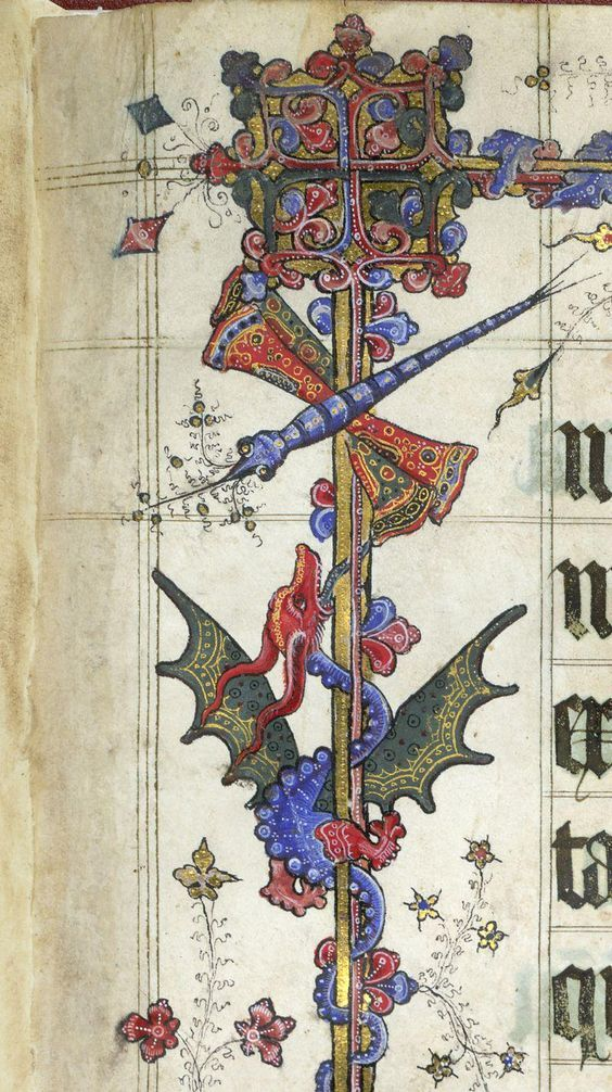 .@BLMedieval my favorite is the GORGEOUS dragon and dragon-fly from Lovell Lectionary c. 1400 http://britishlibrary.typepad.co.uk/digitisedmanuscripts/2014/08/bugs-in-books.html#sthash.hTOqM7MB.dpuf …: