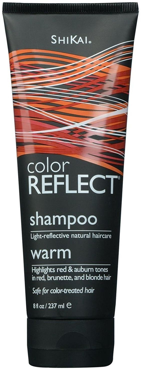 Shikai - Color Reflect Warm Shampoo, Reflects Red and Copper Tones and Intensifies Red Hair (Unscented, 8 Ounces) >>> Discover this special product, click the image : Natural Beauty Care