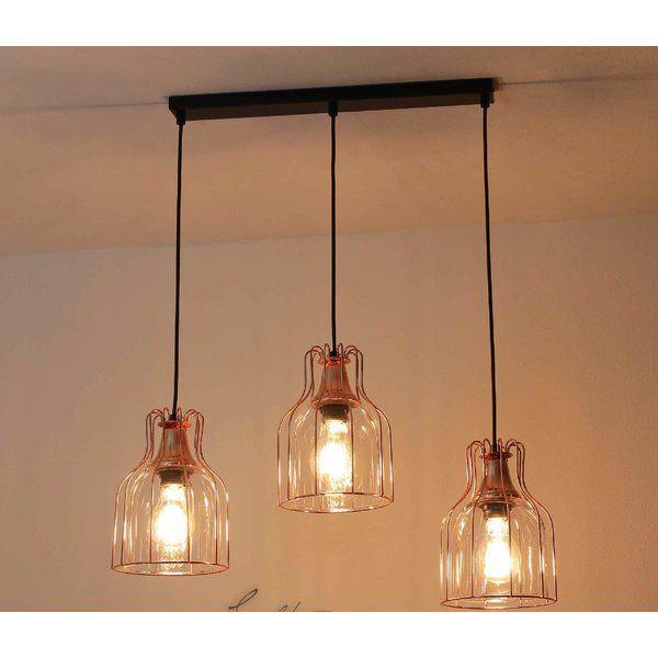 Tailings 3 Light Kitchen Island Pendant Kitchen Island Pendants Kitchen Light Fittings Hanging Lights Kitchen