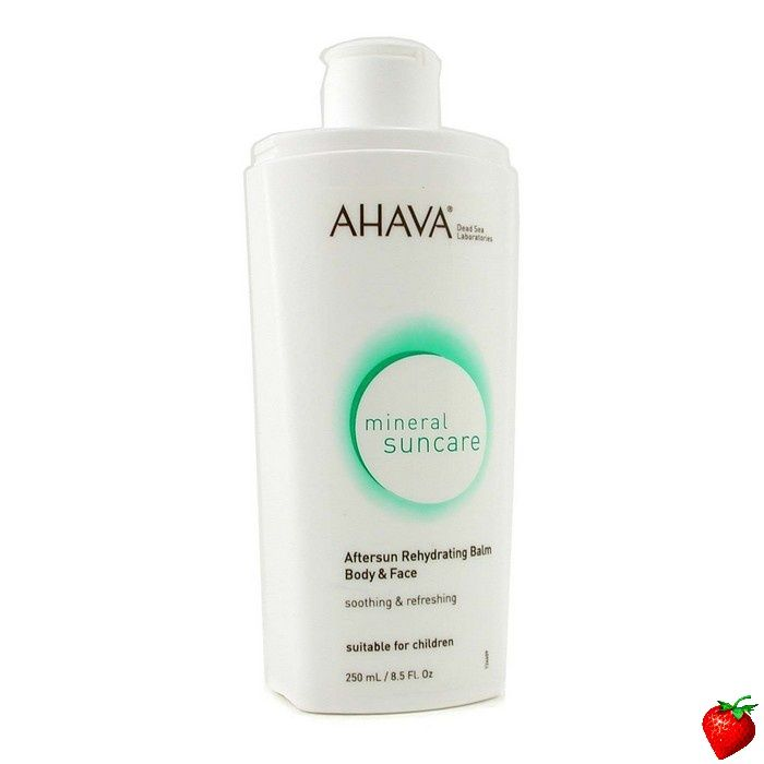 Ahava Aftersun Rehydrating Balm For Body & Face (Unboxed) 250ml/8.4oz #Ahava #Skincare #Aftersun #SummerSpecials #Summer #Beach #Beauty #HotPick #FREEShipping #StrawberryNET