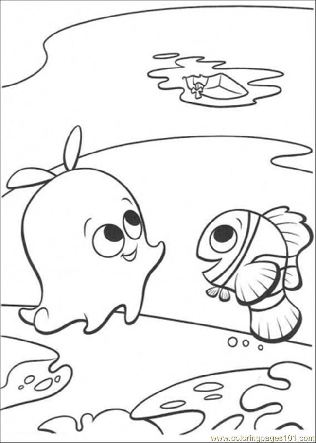 finding nemo coloring pages bing images