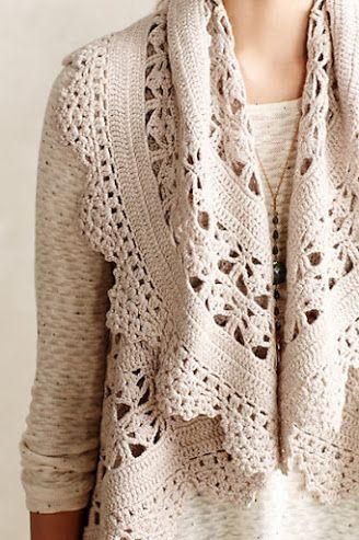 Outstanding Crochet: Lisette Crochet Vest-by Angel of the North.