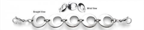 Stainless Medical Bracelet - Anelli della Luna 1980-SS-Was $59-Sale!