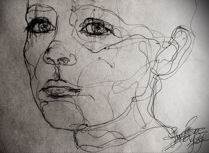 Contour Line Drawing Face : 228 best zeichnung images on pinterest drawings art and