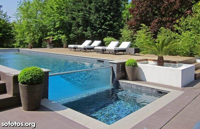 1657 melhores imagens de reas de lazer piscinas for Piscina de piera