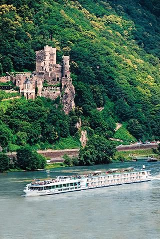 European River Cruises: Scenic Cruises. Luxury Space Ship liner touring Europe, Asia, Australia, China etc.
