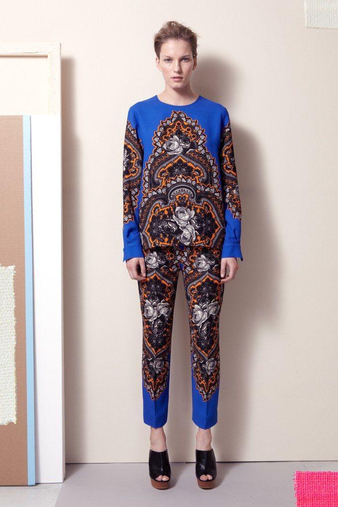 Stella McCartney Pre-Fall 2012 Fashion Show - Marique Schimmel- Rachel Williams