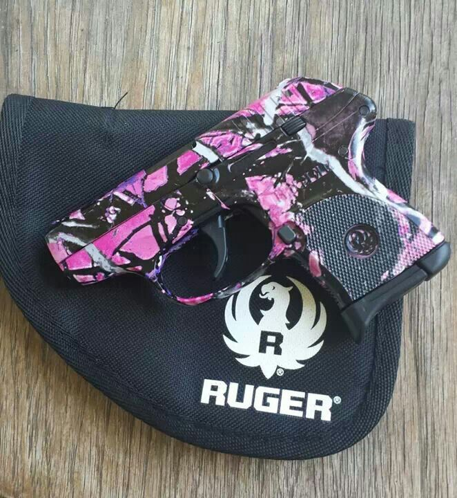 Ruger .380 Muddy girl camo pattern. . I love my gun! !