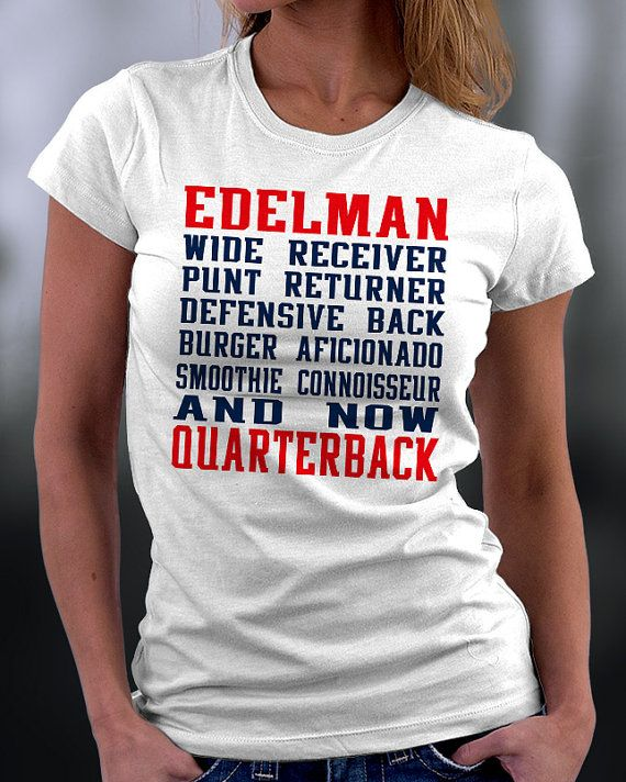 Hey, I found this really awesome Etsy listing at https://www.etsy.com/listing/218439182/new-england-patriots-julian-edelman-t