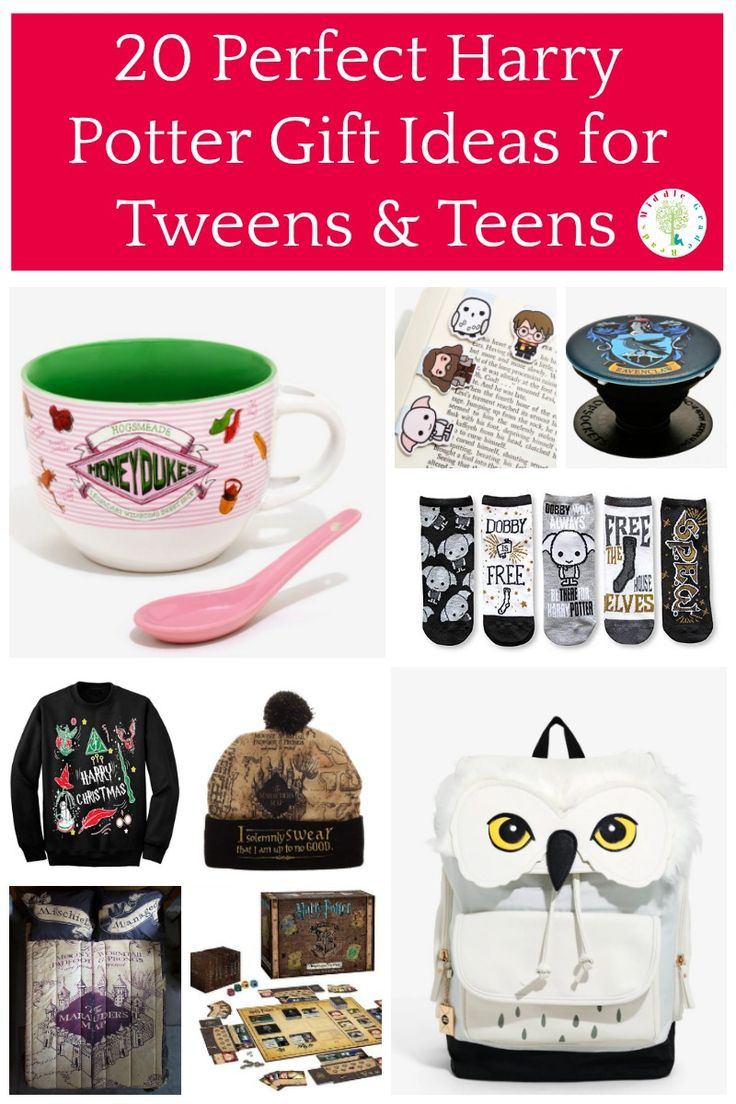 20 perfect harry potter gift ideas for tweens teens