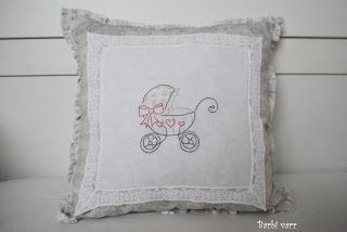 Baby rag pillow