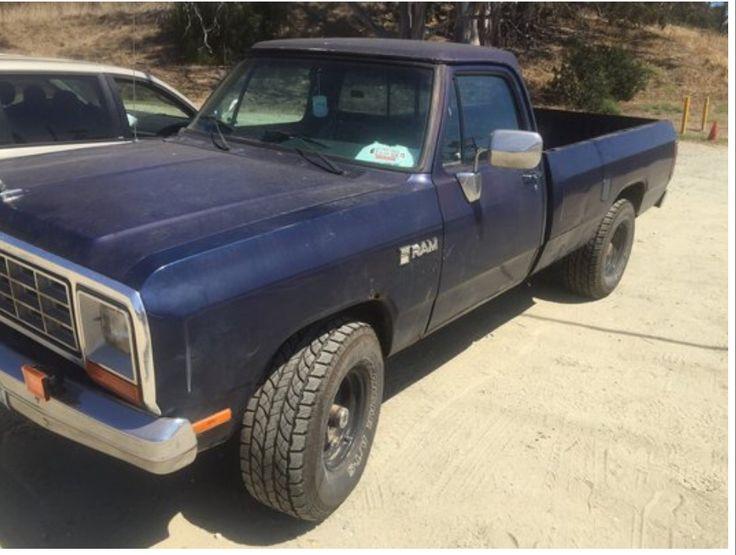 9 best 82 Dodge Ram images on Pinterest | Dodge rams, Small trucks