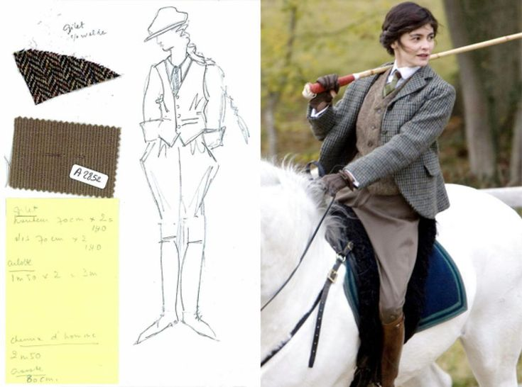 """Catherine Leterrier designs nominated for the film """"Coco Before Chanel."""""""